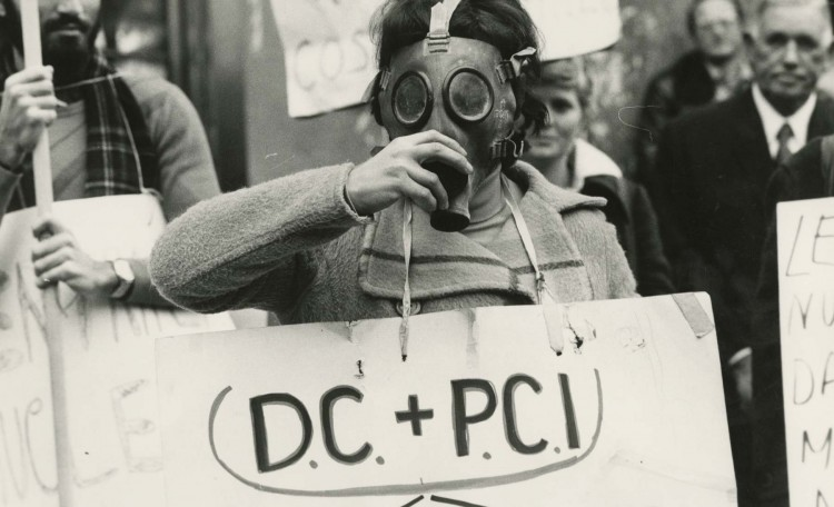 Photograph from TEAM Editorial Services/Alinari, Anti-Nuclear Protest, c1970s