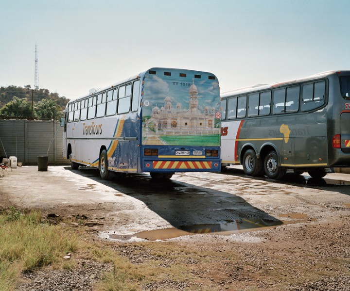 Buses in Bus Depot, SA