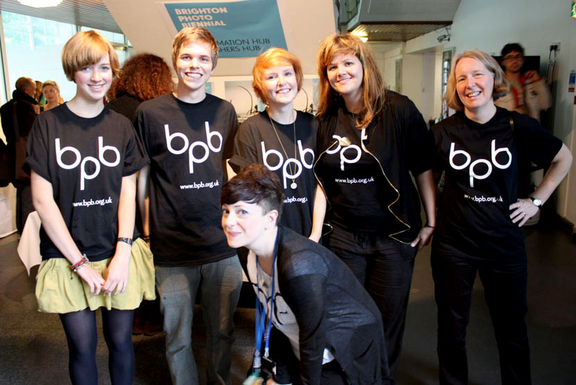 Brighton Photo Biennial Volunteers