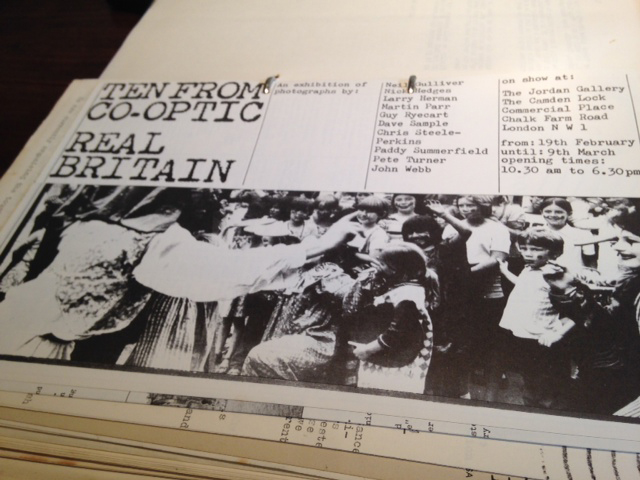 Co-Optic Real Britain photocopy poster